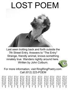 Lost Poem John