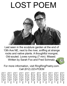 Lost Poem Sarah